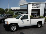 2008 Summit White Chevrolet Silverado 1500 Work Truck Regular Cab #50268203