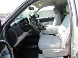 2011 Chevrolet Silverado 1500 LT Regular Cab Light Titanium/Ebony Interior