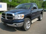 2007 Patriot Blue Pearl Dodge Ram 1500 SLT Regular Cab 4x4 #50268601