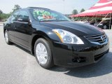 Super Black Nissan Altima in 2012