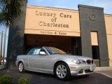 2005 Titanium Silver Metallic BMW 3 Series 325i Convertible #50268470