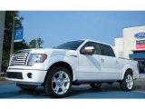 2011 White Platinum Metallic Tri-Coat Ford F150 Limited SuperCrew #50268085