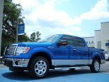 2011 Blue Flame Metallic Ford F150 XLT SuperCrew #50268092