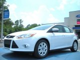 2012 Oxford White Ford Focus SE 5-Door #50268095