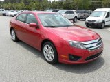 2011 Red Candy Metallic Ford Fusion SE V6 #50268277