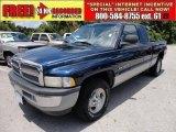 2001 Patriot Blue Pearl Dodge Ram 1500 SLT Club Cab #50329933