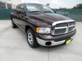2004 Deep Molten Red Pearl Dodge Ram 1500 ST Quad Cab #50329613
