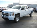 2011 Summit White Chevrolet Silverado 1500 LS Extended Cab #50329785