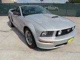 2007 Satin Silver Metallic Ford Mustang GT Premium Convertible #50329615