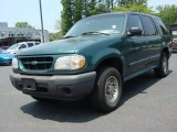 Spruce Green Metallic Ford Explorer in 2000