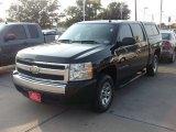 2007 Black Chevrolet Silverado 1500 LS Crew Cab #50329986
