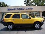 2003 Chrome Yellow Metallic Ford Escape XLT V6 4WD #50329661