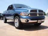 2005 Patriot Blue Pearl Dodge Ram 1500 SLT Quad Cab 4x4 #50329850