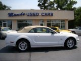 2007 Performance White Ford Mustang GT Premium Convertible #50329671