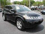 2005 Super Black Nissan Murano S #50330012