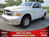 2011 Bright White Dodge Ram 1500 SLT Quad Cab #50329555