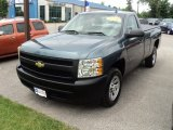 2008 Blue Granite Metallic Chevrolet Silverado 1500 Work Truck Regular Cab #50329887