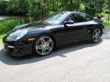 2008 Black Porsche 911 Turbo Coupe #50329438