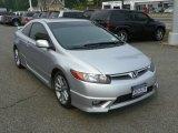 2007 Alabaster Silver Metallic Honda Civic Si Coupe #50329585