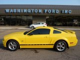 2006 Screaming Yellow Ford Mustang GT Premium Coupe #50380495
