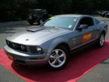 2007 Tungsten Grey Metallic Ford Mustang V6 Premium Coupe #50380304