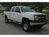 2003 Summit White Chevrolet Silverado 2500HD LT Extended Cab 4x4 #50380693