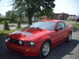 2007 Torch Red Ford Mustang GT Deluxe Coupe #50380308