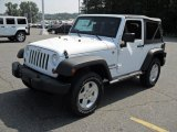 2011 Bright White Jeep Wrangler Sport S 4x4 #50380701