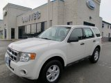 2009 White Suede Ford Escape XLS #50380317