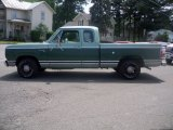 Jade Green Dodge D Series Truck in 1977