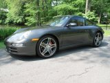 2008 Slate Grey Metallic Porsche 911 Carrera 4S Coupe #50380144