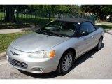 2003 Bright Silver Metallic Chrysler Sebring LXi Convertible #50380336