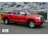 2011 Radiant Red Toyota Tundra Limited CrewMax 4x4 #50379979