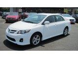 2011 Super White Toyota Corolla S #50380541