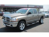 2006 Light Khaki Metallic Dodge Ram 1500 SLT Quad Cab 4x4 #50380544