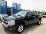 2011 Black Chevrolet Silverado 1500 LT Extended Cab 4x4 #50380172
