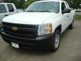 2011 Summit White Chevrolet Silverado 1500 Extended Cab #50380010