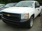 2011 Summit White Chevrolet Silverado 1500 Extended Cab #50380030
