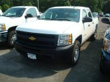 2011 Summit White Chevrolet Silverado 1500 Crew Cab 4x4 #50380034