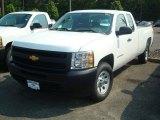 2011 Summit White Chevrolet Silverado 1500 Extended Cab 4x4 #50380036