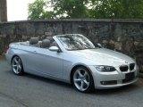 2008 Titanium Silver Metallic BMW 3 Series 335i Convertible #50380183