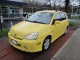 2003 Suzuki Aerio Electric Yellow