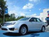 2011 Ingot Silver Metallic Ford Fusion S #50380191