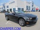 2011 Ebony Black Ford Mustang V6 Premium Convertible #50380071