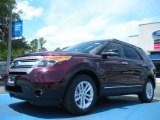 2011 Bordeaux Reserve Red Metallic Ford Explorer XLT #50380193