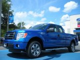2011 Blue Flame Metallic Ford F150 STX SuperCab #50380194