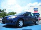 2012 Kona Blue Metallic Ford Focus S Sedan #50380203