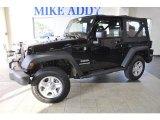 2011 Black Jeep Wrangler Sport 4x4 #50380382