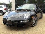 2008 Black Porsche 911 Carrera 4S Coupe #50380778