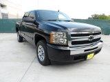 2010 Black Chevrolet Silverado 1500 LS Crew Cab #50380396
